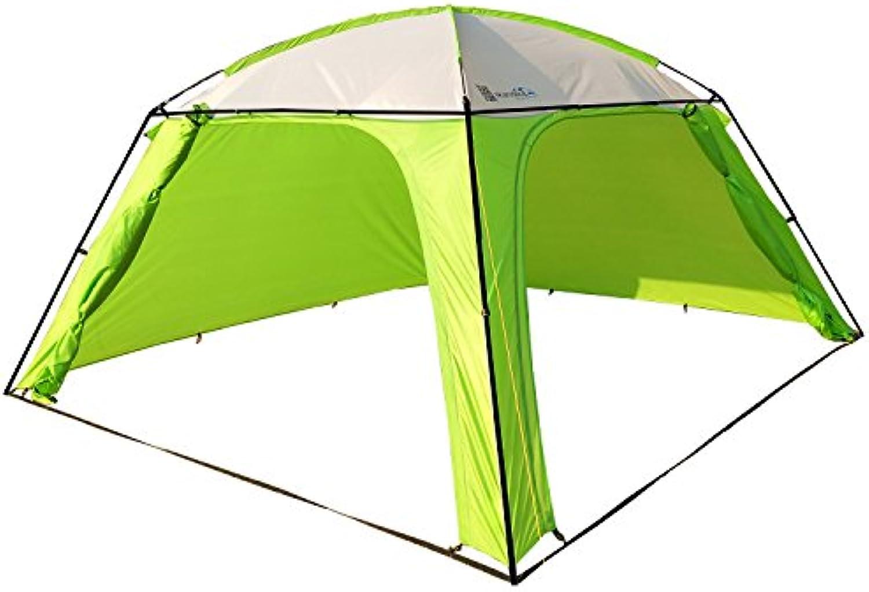Skandika Pavillon XL Zelt 360 x 360 x 210cm zustzlich mit stabilisierenden Querstangen