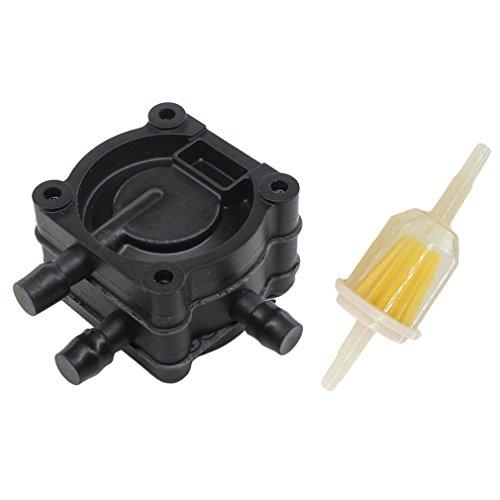 AISEN Pompe à essence avec filtre à essence pour Tecumseh 35787 35787A OHM120 OHV110 125 130 135 140 150 160 170 175 180 OV TVT