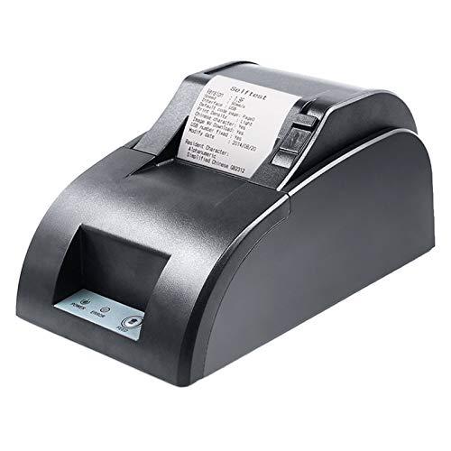 Aibecy Impresora térmica de escritorio de 58 mm Impresora de facturas de recibos Conexión con cable USB Soporte ESC/POS Command Compatible con Windows para supermercados Tienda Restaurante