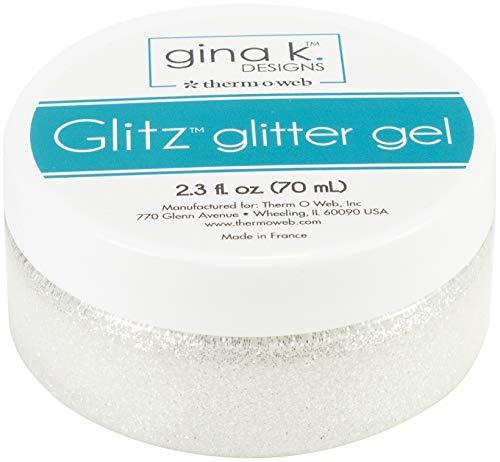 Gina K Designs GINA K GLITZ GLITTER WIT, One Size