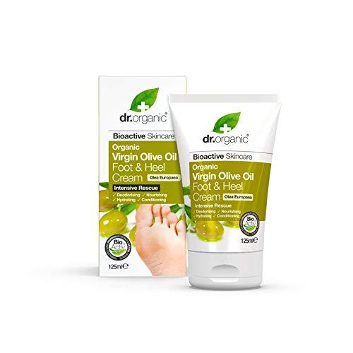 Dr. Organic Crème Pieds/Talons à l'Olive Bio 125 ml
