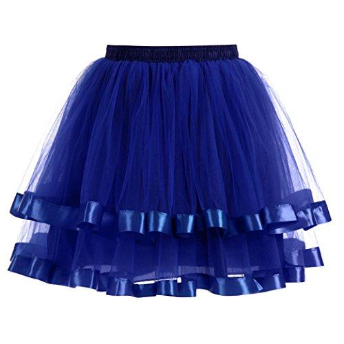 Dasongff Damesrok voor dames, petticoat, onderrok, vintage 1950 rockabilly-jurk, mini-deur, rok, retro balletje, dansjurk, petti-shirt voor feestjurk, avondjurk, cocktailjurk