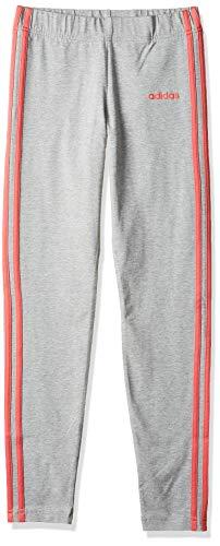 adidas Performance Essentials 3 Stripes Trainingstight Kinder grau/pink, 164