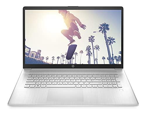 HP 17-cp0000sf PC Portable 17.3' FHD IPS Argent (AMD Ryzen 7, RAM 16 Go, SSD 1 To, AZERTY, Windows 10)