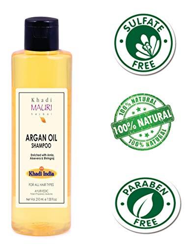 Khadi Mauri Herbal Argan Oil Shampoo 210 ml