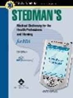 Stedman's Medical Dictionary for the Health Professions and Nursing, Fifth Edition for PDA: Powered by Skyscape, Inc.