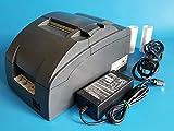 Epson TM-U220B M188B POS Receipt Printer USB Interface - Red & Black Ribbon - with Power Supply (Renewed)
