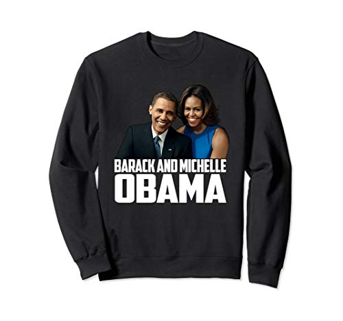 Barack and Michelle Obama gift I love Obama's Black Proud Sweatshirt