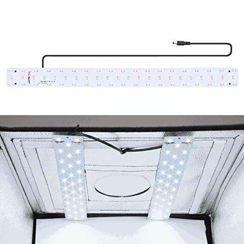 Fotografie-Beleuchtung 30 Watt 1690LM 60 LEDs SMD 5730 5500 Karat Aluminium Basis Licht Panel for 60 cm Studio Zelt