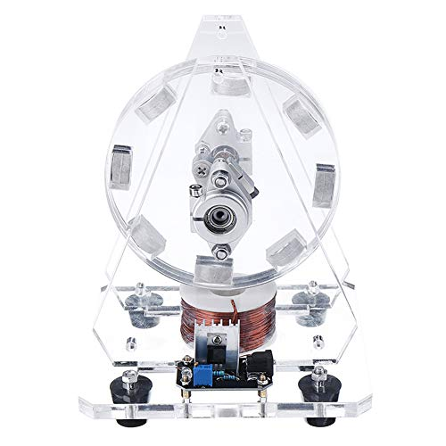VIEUR Bedini Motor Bürstenlosen Modell Magneten Pseudo Perpetual Motion Disc Motor 24V Wissenschaft Spielzeug