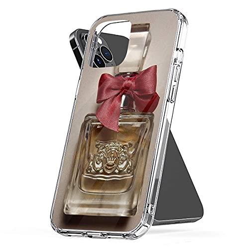 Viva La Juicy Juicy Couture-Perfume-Bottle-with-Pink-Bow Compatible con Cajas del Teléfono Cover iPhone 12/11 Pro MAX 12 Mini SE X/XS MAX XR 8 7 6 6s Plus Funda