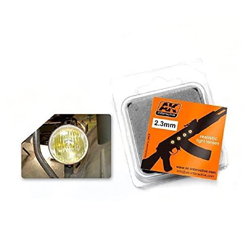 AK Interactive - Light Lenses - Amber 2.3mm - (AK00211)
