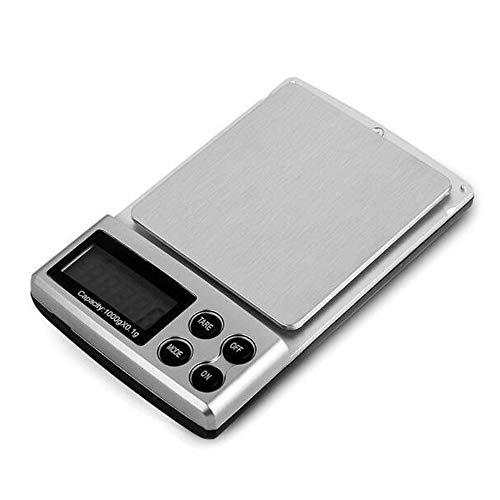 Digitale weegschaal voor sieraden, elektronische weegschaal, weegschaal voor levensmiddelen, keuken, LCD-display 500G0.01G