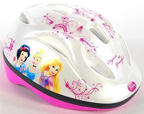Disney Princess, Casco per Bambine, Bianco, Rosa, Taglia unica