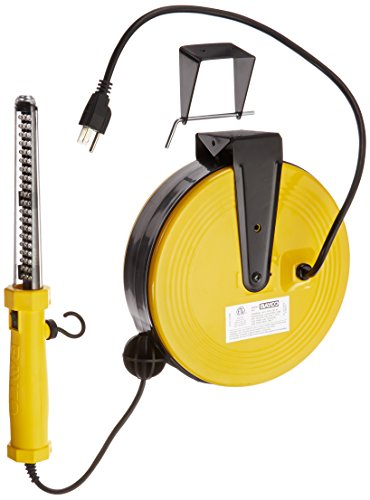 Bayco SL-864 60 LED Work Light on Metal Reel with 50 Foot Cord