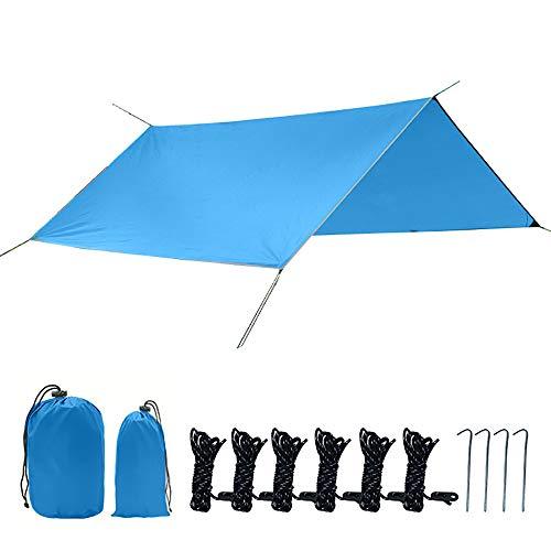 LK-HOME Toldo Vela De Sombra,Rectángulo Resistente Al Agua Sun Shade Sail Canopy, 95% Bloque UV con Cuerda Libre, Toldo Anti-UV para Toldos De Jardín Al Aire Libre, 300 * 300 Cm