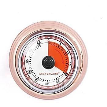 Kikkerland KT051-CO Magnetic Kitchen Timer, Copper