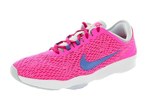 Nike Wmns Zoom Fit, Zapatillas de Tenis Mujer, Rosa (Pink Pow/Polar-Frbrry-Pr Pltnm), 43