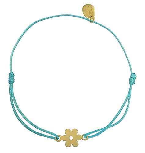Good Luck Smilla cague de pulsera con forma de herradura Charm - amuleto de la suerte/rojo - OE05