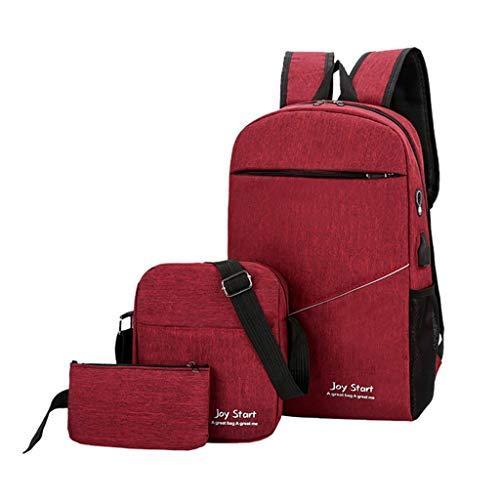 TWIFER Mochila para portátil Multiusos Daypacks Mochila escolar simple para portátiles Mochila Antirrobo Impermeable viajes de deportes al aire libre