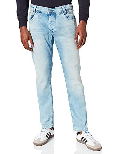Pepe Jeans Spike' Vaqueros, Azul (Denim NA), 32W / 32L para Hombre