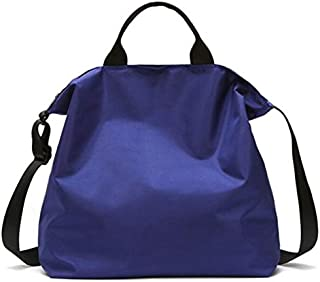 TOOGOO Nylon Handbags Women Men Shopping Bags Reusable Shopping Bag Bags Black
