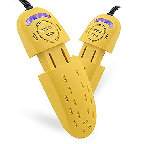 Boot portátil y zapatos Secadora Secador de zapatos, Desinfección Secadora Hornear telescópica Desodorante portátil secadora caliente se puede programar en invierno Luz púrpura telescópicas zapatos za
