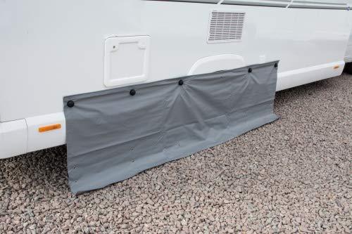 Kampa Doppelt anbringbare Bodenschürze 400 cm grau