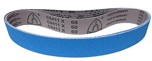 Klingspor CS 411 X Schleifband   50 x 1020 mm   5 Stück   Körnung: P80