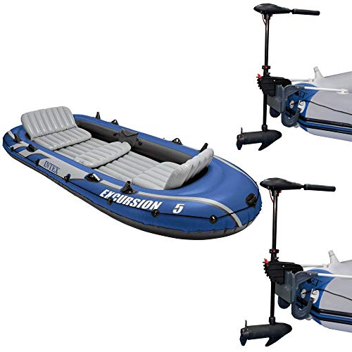 a trolling motor as primary propulsion