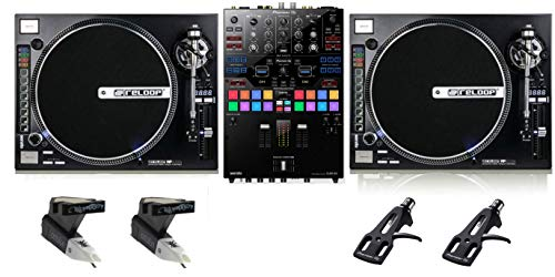 Read About Pioneer DJ DJM-S9 + Reloop RP-8000 With Cartridges And Headshells Bundle