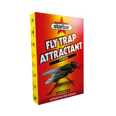 Starbar Fly Trap Attractant – entres spécifique pour Mouches et Insectes Volants