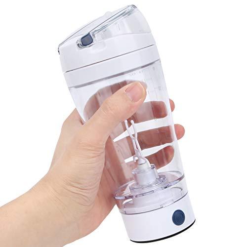 Keenso Botella batidora batidora portátil, agitador eléctrico Botella batidora automática Taza mezcladora Inteligente con Pilas portátil