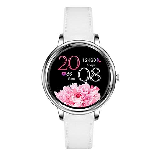 L.B.S MK20 Smart Watch, Pantalla Táctil Completa Mujer Inteligente, Adecuado para Niñas Compatible con Android Y iOS, Fondo