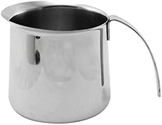 KRUPS XS5020 Stainless Steel Milk Frothing Pitcher For Fully Automatic Machines EA8442 And EA8250, 20-Ounce, Silver