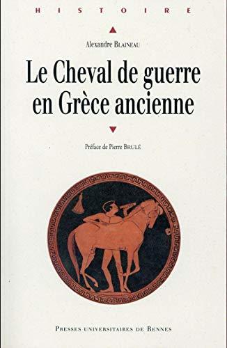 CHEVAL DE GUERRE EN GRECE ANCIENNE