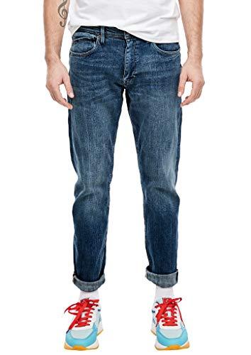 s.Oliver RED LABEL Herren Slim Fit: Slim leg-Denim blue stretched den 36.36