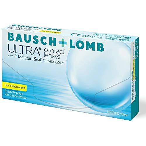 Bausch + Lomb Ultra for Presbyopia Contact lenses with Moistureseal Technology Monatslinsen weich, 3 Stück BC 8.5 mm / DIA 14.2 / -2.75 Dioptrien / ADD High