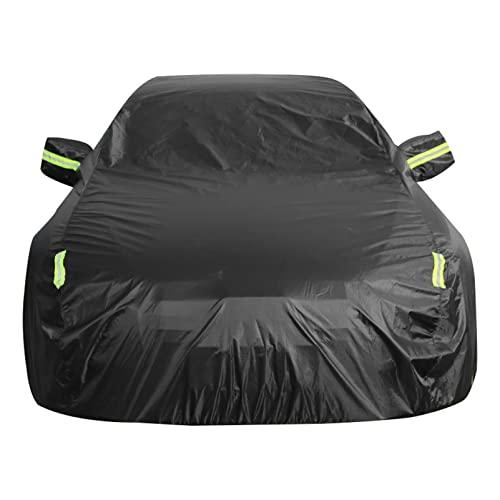 Fundas Coches Compatible con Mercedes Benz. AMG Clase SLC SLK CL CLK SL Protección contra la nieve / lluvia Impermeable Transpirable 4/ 5 capas negras Fundas para coches deportivos Aislamiento antico