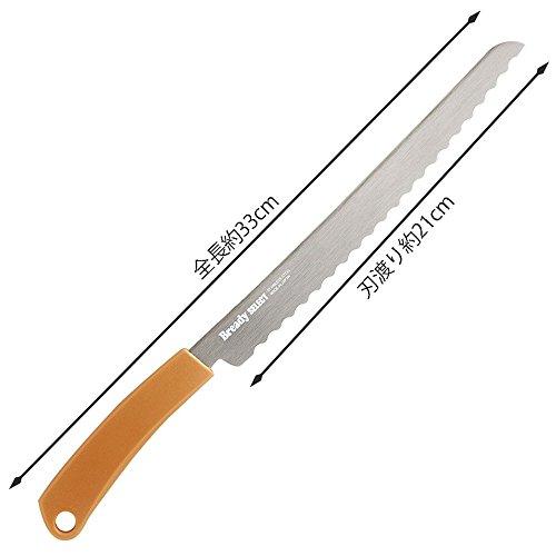 貝印KAIブレッドナイフBreadySELECTブラウン日本製AC0070