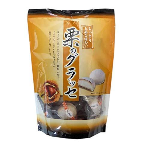 竹林堂製菓 グラッセ (栗, 12袋)