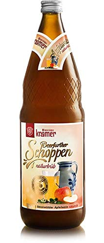 Krämer Apfelwein Naturtrüb 6 x 1 Liter +0,90€ MEHRWEG Pfand