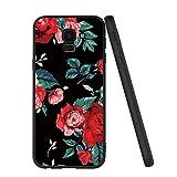 Yoedge Samsung Galaxy J6 2018 Case, Black Silicone with
