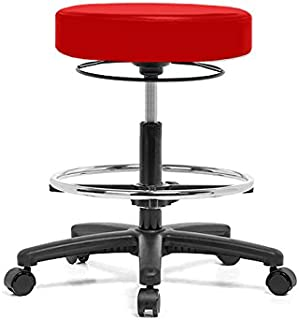 Marvelous Best Boss Drafting Stool With Adjustable Arms And Footring Dailytribune Chair Design For Home Dailytribuneorg