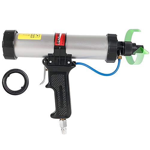 BELAROKO 3100A Pneumatic Caulking Gun with Air Flow Regulator, for 10-Ounce 10.3oz 10.5 OZ Cartridge
