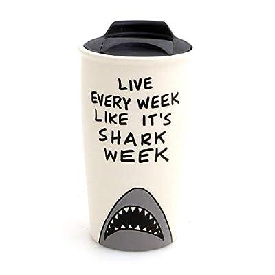 Shark Week Eco Travel Mug