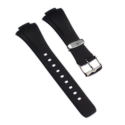 Calypso Correa de reloj casual de material PU negro para relojes Calypso K6044