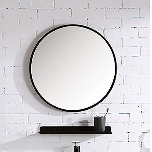 Waterdicht, al vochtbestendig, roestvrij, make-up spiegel voor boren aan de muur, vrijstaand, badkamerspiegel.