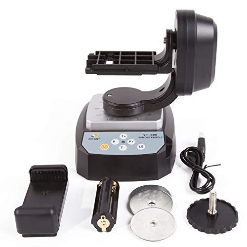 PROtastic yt-500Fernbedienung Motorisierte Pan Tilt für Action Kameras, WLAN Kameras und Smartphones (GoPro, Xiaomi, SJCAM Etc.)