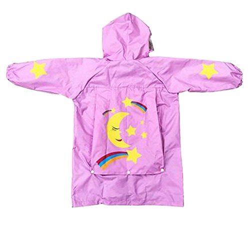 Lovely Kids Raincoat Kids Rainwear veste de pluie pour étudiant Star